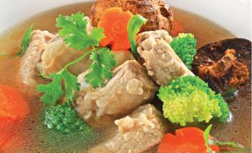Cách nấu canh la hán quả trị ho gà